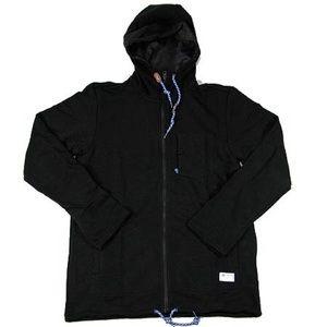 ADIDAS GONZ Zip up Sweatshirt Hoodie Hood Black 🛹